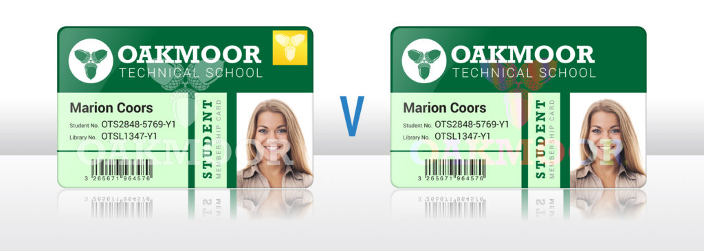 Magicard holokote vs custom lamination watermarks for secure ID cards