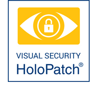 HoloPatch visual security icon