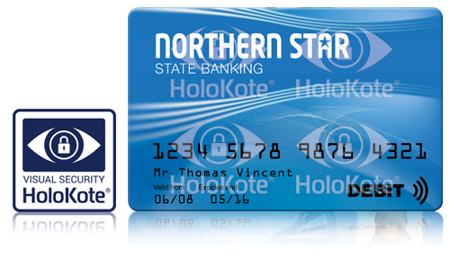 Print custom holokote watermark on your ID cards
