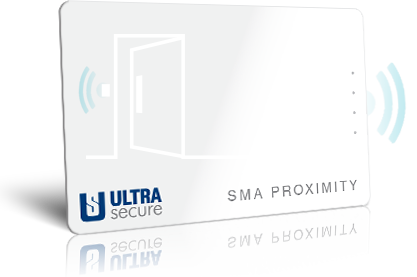 Ultrasecure sma proximity cards