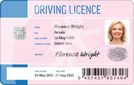 print driving license card with magicard printers