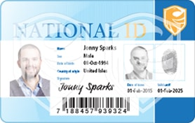 Print national id cards with magicard printers