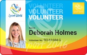 print volunteer staff cards with magicard printers